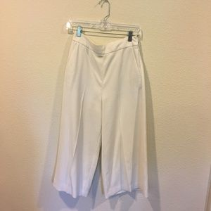 Madewell Pants - Madewell white culotte pants